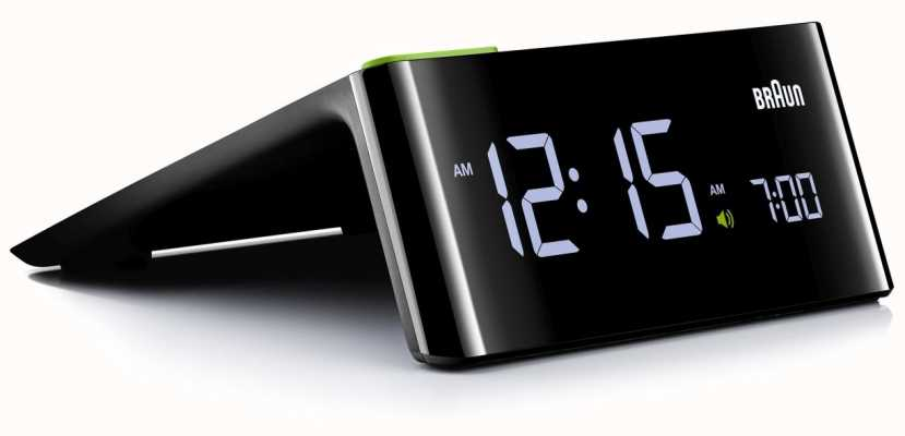 Braun Digitale nachtkastje wekker BNC016BKUK