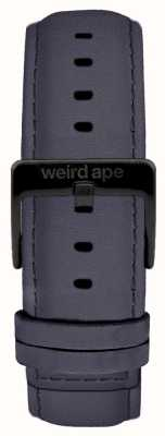 Weird Ape Blauwviolet suède 20 mm riem zwarte gesp ST01-000079