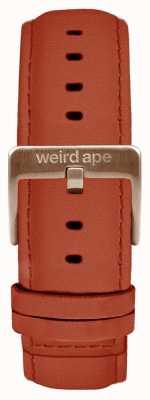 Weird Ape Roest suede 20mm band rosé gouden gesp ST01-000094