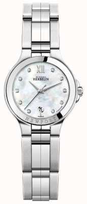Michel Herbelin Dames nieuwpoort royale roestvrijstalen horloge 14298/B89
