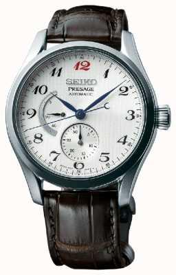 Seiko Presage mens automatisch gangreserve-weergave horloge SPB059J1