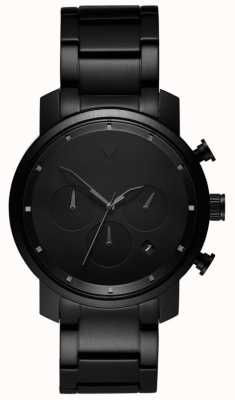MVMT Heren chrono 40mm zwarte link MC02-BB