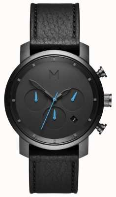 MVMT Heren chrono 40 mm zwart MC02-GUBL