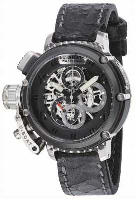U-Boat Mens chimera 46 stsinless stalen skelet limited edition 8028