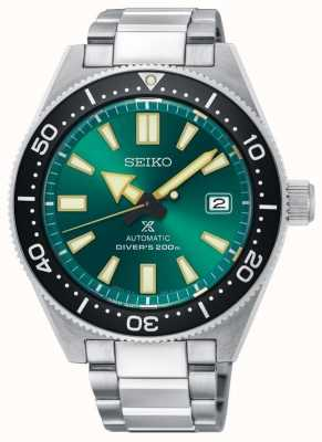 Seiko Prospex groene limited edition duikers 200m automatisch staal SPB081J1