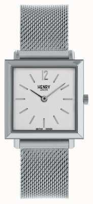 Henry London Zilveren dameshorloge van Heritage dameshorloge HL26-QM-0265