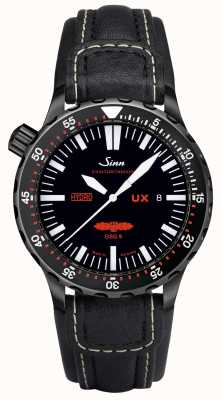 Sinn Ux s gsg 9 pvd leer 5000m waterbestendig 403.062 LEATHER