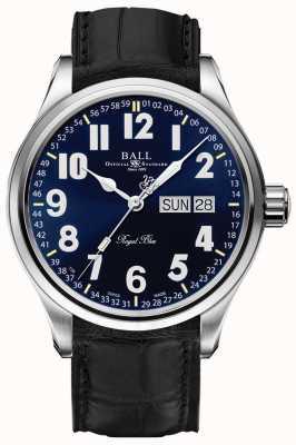 Ball Watch Company Trainmaster koninklijk blauwe datum & dag weergave NM1058D-LL9J-BE