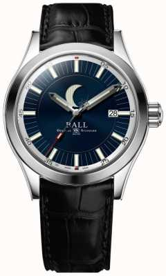 Ball Watch Company Engineer ii maanfase datumweergave blauwe wijzerplaat NM2282C-LLJ-BE