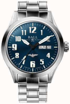 Ball Watch Company Engineer iii zilveren ster blauwe wijzerplaat roestvrij stalen armband NM2182C-S2J-BE