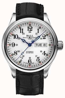 Ball Watch Company Trainmaster 60 seconden automatische dag en datum weergave NM1058D-LL3FJ-WH