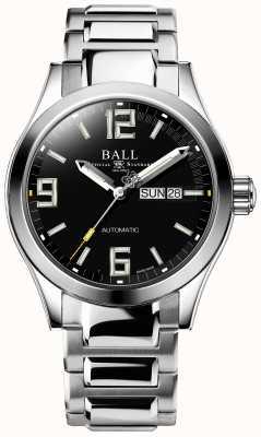 Ball Watch Company Ingenieur iii legende automatische dag en datum weergave in zwarte wijzerplaat NM2028C-S14A-BKGR