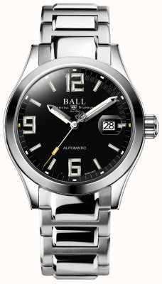 Ball Watch Company Ingenieur iii legende automatische dag en datum weergave in zwarte wijzerplaat NM2126C-S3A-BKGR