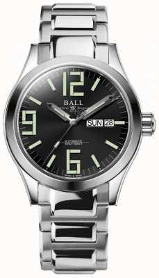 Ball Watch Company Engineer ii genesis black dial roestvrij staal dag & datum NM2026C-S7J-BK