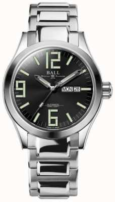 Ball Watch Company Engineer ii genesis black dial roestvrij staal dag & datum NM2028C-S7-BK