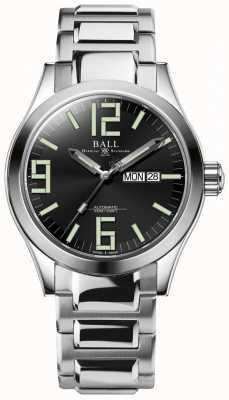 Ball Watch Company Engineer ii genesis black dial roestvrij staal dag & datum NM2028C-S7J-BK