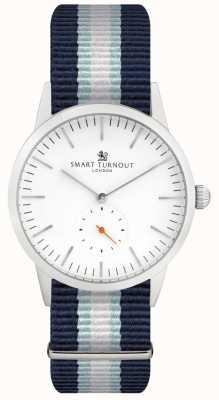 Smart Turnout Signature horloge - wit met lange band STK3/WH/56/W