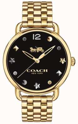 Coach Horlogebandje dameshorloge, goudkleurig 14502813