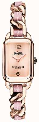 Coach Damesroze rose gouden en roze armbandhorloge 14502844