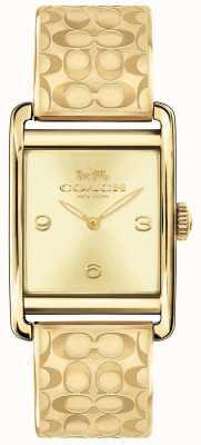 Coach Womens renwick horloge gold tone 14502849