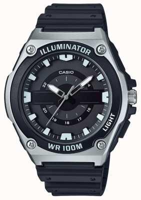 Casio Horlogeshorloge herenhorloge zwart MWC-100H-1AVEF
