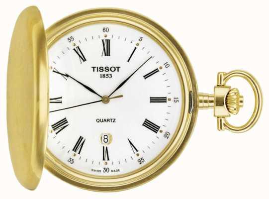 Tissot Vergulde savonette zakhorloge Swiss made T83455313