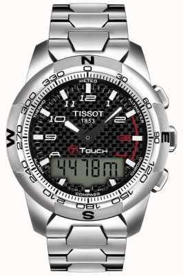 Tissot T-touch ii titanium alarm chronograaf voor heren T0474204420700