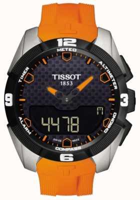 Tissot Heren t-touch expert solar titanium chronograaf T0914204705101