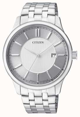 Citizen Mens quartz roestvrij staal minimal ontwerp datumweergave BI1050-56A