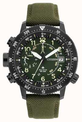 Citizen Mens eco-drive promaster altichron wr200 horloge BN4045-12X