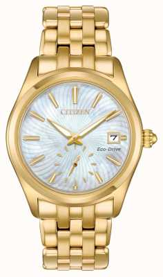 Citizen Wijzerplaat eco-drive corso parelmoer dames EV1032-51D