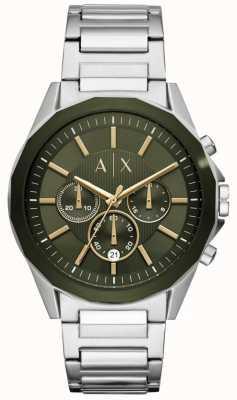 Armani Exchange Drexler heren chronograaf roestvrij staal AX2616