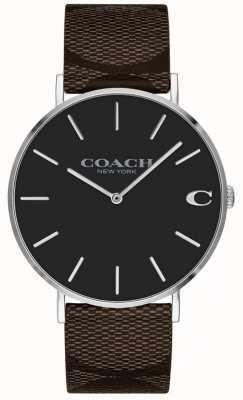 Coach Womens vriendje helderroze wijzerplaat horloge 1402156