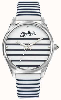 Jean Paul Gaultier Lederen damestrui van marinebroeken JP8502416