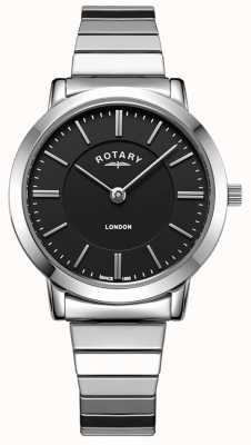 Rotary Damesvergrotend armbandhorloge in Londen LB00765/04