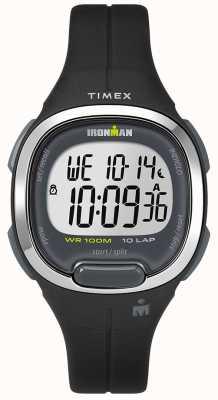 Timex Iron man essentieel paars en chroom horloge TW5M19700SU