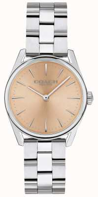Coach Dames moderne luxe zilverkleurige armband 14503207