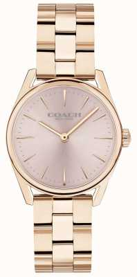 Coach Womens moderne luxe rose goudkleurige armband 14503206