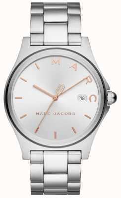 Marc Jacobs Dames henry horloge zilverkleur MJ3583