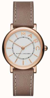 Marc Jacobs klassiek dameshorloge, grijs leer MJ1538