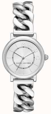 Marc Jacobs Dames marc jacobs klassiek horloge zilverkleurig MJ3593