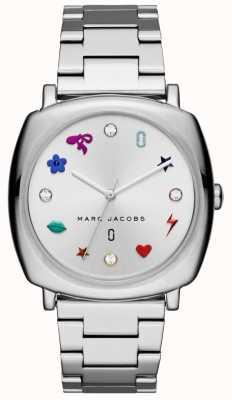 Marc Jacobs Mandy dameshorloge zilverkleur MJ3548