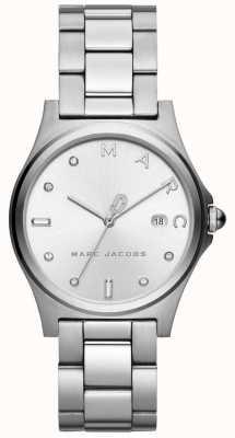 Marc Jacobs Dames henry horloge zilverkleur MJ3599