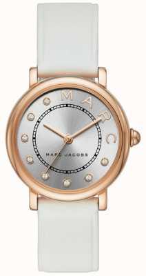 Marc Jacobs Dames marc jacobs klassiek horloge rood leer MJ1634