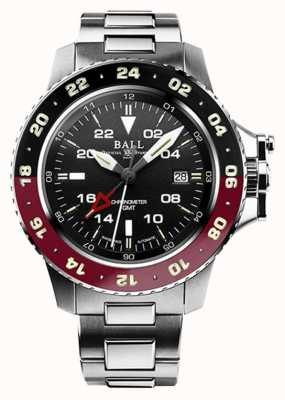 Ball Watch Company Engineer koolwaterstof aerogmt ii 42 mm zwarte wijzerplaat DG2018C-S3C-BK