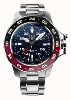 Ball Watch Company Engineer koolwaterstof aerogmt ii 42 mm blauwe wijzerplaat DG2018C-S3C-BE