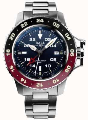 Ball Watch Company Engineer koolwaterstof aerogmt ii 42mm blauwe wijzerplaat DG2018C-S3C-BE