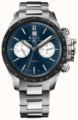 Ball Watch Company Engineer koolwaterstof racer chronograaf 42mm blauwe wijzerplaat CM2198C-S1CJ-BE