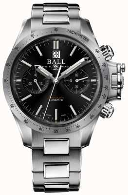 Ball Watch Company Engineer koolwaterstof racer chronograaf 42 mm zwarte wijzerplaat CM2198C-S2CJ-BK