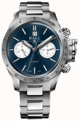 Ball Watch Company Engineer koolwaterstof racer chronograaf 42mm blauwe wijzerplaat CM2198C-S2CJ-BE